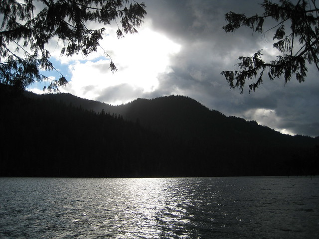 Storm at Packwood Lake