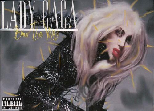 lady gaga born this way coverlandia. of lady gaga Born This Way