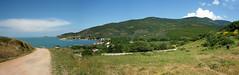 lhanky - Kapda Yarmadas (Sinan Doan) Tags: panorama nature turkey trkiye trkei naturephotos balkesir doa erdek  marmaradenizi  trkiy ilhanky kapdayarmadas