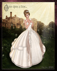 Fairytale Storybook (Wisp Jinn [Wishbox]) Tags: wedding fairytale princess fantasy secondlife formalwear fairytales weddinggown bridalwear alisandra wishbox slfashion
