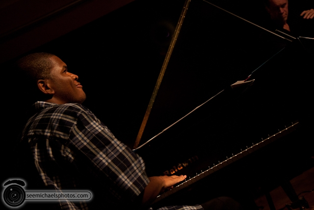 Joshua White Quartet at Dizzys 82610 © Michael Klayman-002