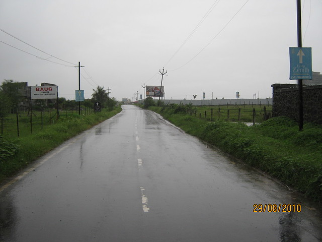 Road to Elite Homes Tathawade Wakad Pune