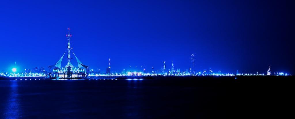 Kuwait City Nightscape