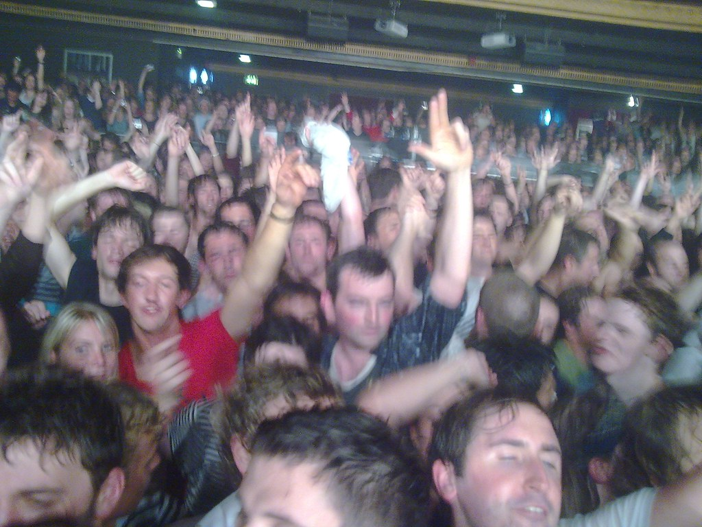 Libertines Crowd