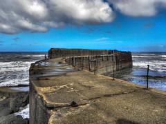 skinningrove jetty (robbie484) Tags: pier jetty hdr breakwater lightroom photomatix skinningrove tonemapped
