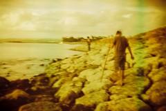 Kuta Beach, Bali (mi..chael) Tags: life holga lomography toycamera 400 vista reverse agfa baliisland kutabeach redscale 135bc