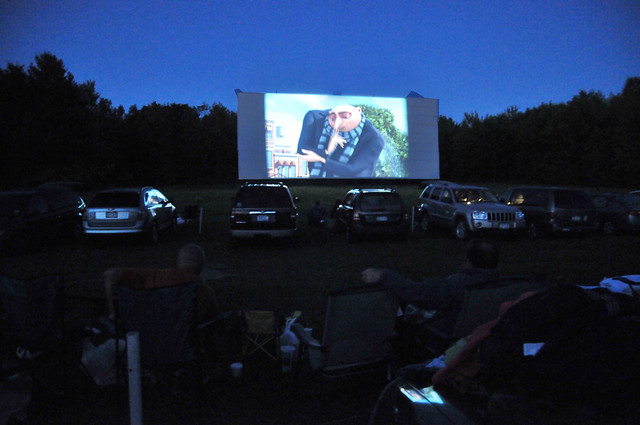 despicable me at the drive-in