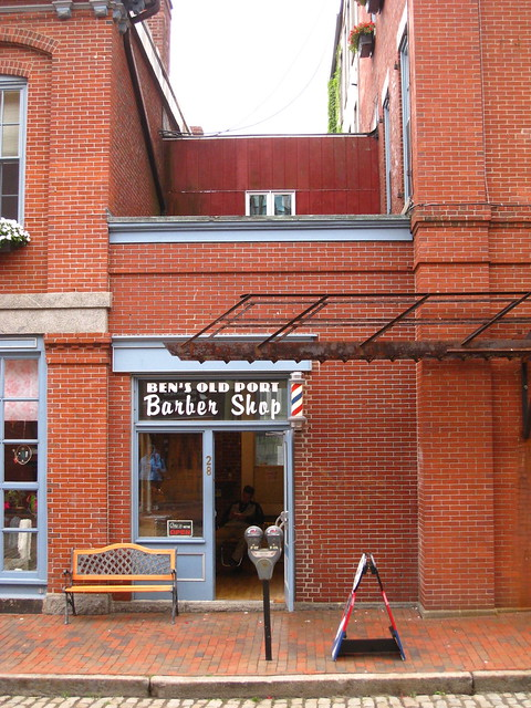 """BEN'S OLD PORT Barber Shop"""