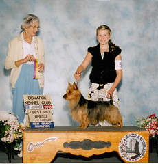 Ellie and Beckham Grand Champion