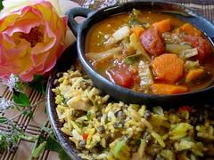 Biryani & Sambar Stew
