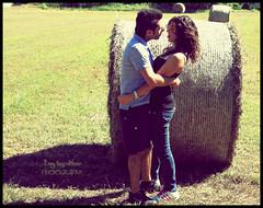 Love is... (Enny Napolitano) Tags: boy love nature girl grass couple natura erba paglia ragazza coppia ragazzo innamorata