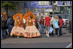 Perfecly blending in Helsinki crowd (bozigle factory ☮ Bambú) Tags: carnival music helsinki samba capoeira factory dancer parade carnaval float 2009 xix papagayo roseira sambista xavie locquet vandenberghe xixhelsinkisamba hsc2009 xixhelsinkisambacarnival boziglefactory bozigle wwwsambefi