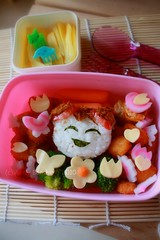 Happy Girl bento