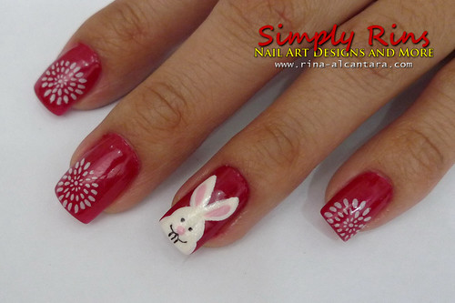 Chinese New Year Nail Art 07