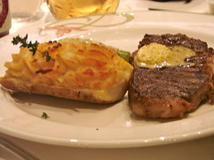 Disney Dream Enchanted Garden NY Strip Steak