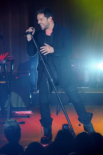 Ricky Martin en Montreal el 12 de abril