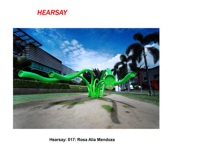 Hearsay by Rosa Alia Mendoza