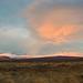 Blazing sky, Iceland