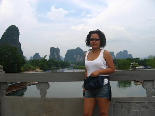 My Chinese friend, Caroline