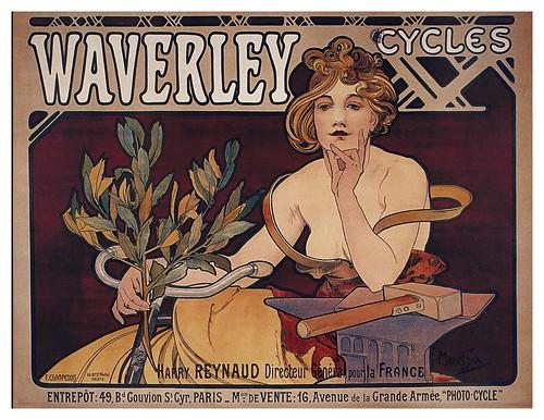 003-Carteles de bicicletas antiguas