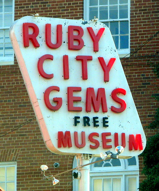 Ruby City sign B
