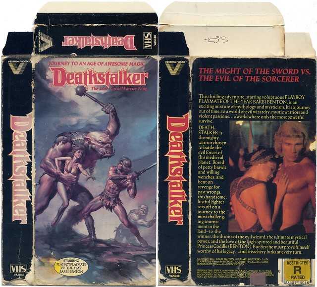 Deathstalker (VHS Box Art)