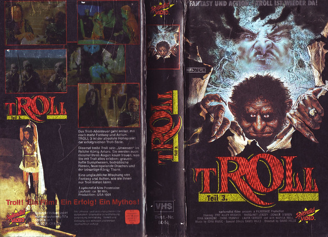 Troll (cover 3) (VHS Box Art)