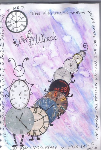 Milliande Art Journal Day 6
