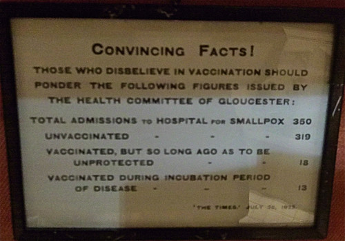 Vaccination Warnings