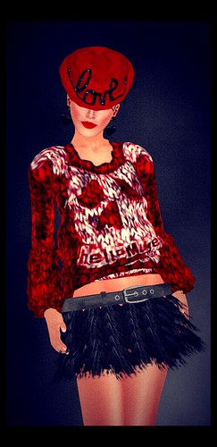 *dg*  for 50l red & pink Outfits + *LpD* - *Hairy Sheep* Skirt