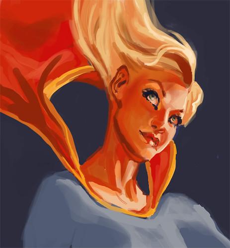 study: adam hughe's supergirl