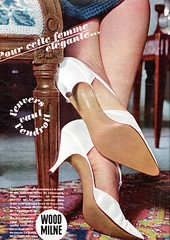 the 1960s-ad for Wood Milne soles (april-mo) Tags: highheels 1964 the60s vintagead vintageshoes the1960s 1964ad vintagehighheels vintagefrenchmagazine vintageadforshoes woodmilne woodmilnesole