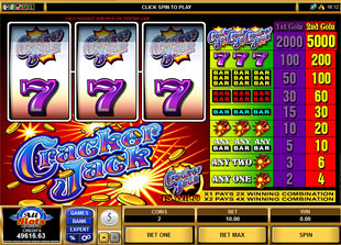 Cracker Jack slot game online review