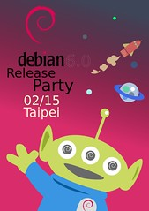 Flickr 上 honkia 的 debian release party in taipei