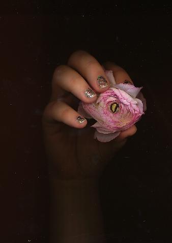 glitter nailpolish.