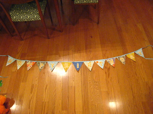 Kyla Made a Birthday Banner