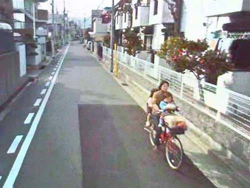 street in Japan (via Google Earth, interpreted by and courtesy of Chuck Wolfe)