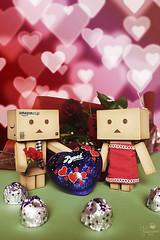 Valentine's day (Senzio Peci) Tags: italy love japan amazon italia heart cardboard sicily giappone sicilia valentinesday kaiyodo enoki yotsuba danbo paternò tomohide revoltech danboard ダンボー enokitomohide intothedeepofmysoul