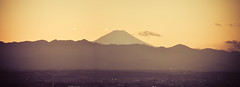 Mt. Fuji - Japan (mattlindn) Tags: old sky panorama mountain mountains beautiful japan clouds buildings landscape fun tokyo scenery asia pretty fuji view traditional religion panoramic mount  fujisan   atmospheric mtfuji tmg 2011 tokyometropolitangovernmentoffice    japan2011