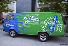 Steam Whistle (Clayton Perry Photoworks) Tags: vancouver bc canada canadaday canada150 celebration party canadaplace truck van steamwhistle beer
