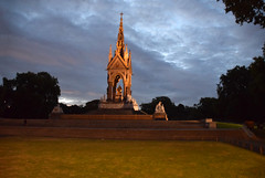 DSC_5344 Hyde Park London The Albert Memorial is situated in Kensington Gardens commissioned by Queen Victoria in memory of her beloved husband, Prince Albert who died of typhoid in 1861 (photographer695) Tags: hyde park london the albert memorial is situated kensington gardens commissioned by queen victoria memory her beloved husband prince who died typhoid 1861