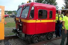 Semper Fi - 100_3298 (primemover88) Tags: speeder railcar excursion narcoa elkins wv west virginia durbin greenbrier valley railroad