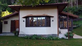 Casa principal e área Gourmet - Itaipava