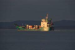 Sunset cruise (Frances Jayne) Tags: ocean ship devonport bluff