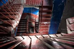 Stairs Refshaleøen (Blinkofanaye) Tags: refshaleøen stairs blue red light escher copenhagen københavn denmark
