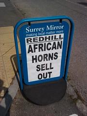 Surrey Mirror worries about it's spelling