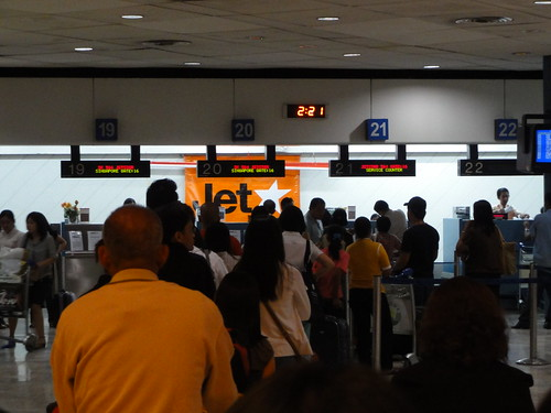 Counter of JetStar