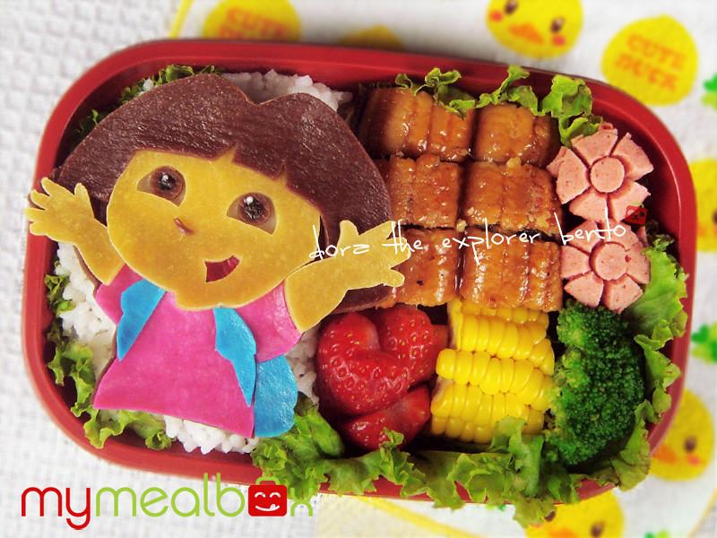 Dora the Explorer bento