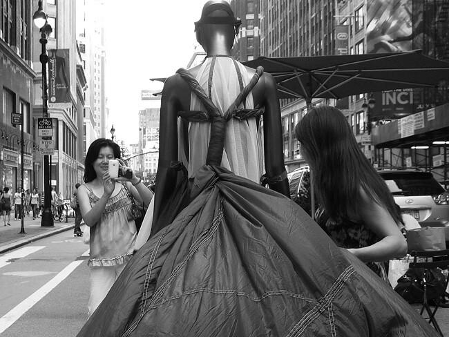 Sidewalk Catwalk, NYC