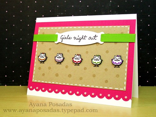 Owls- Girls Night Out (2)